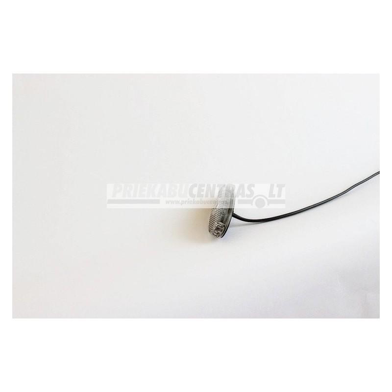 Žibintas gabaritinis baltas ASPOCK FLATPOINT II LED 0.5m