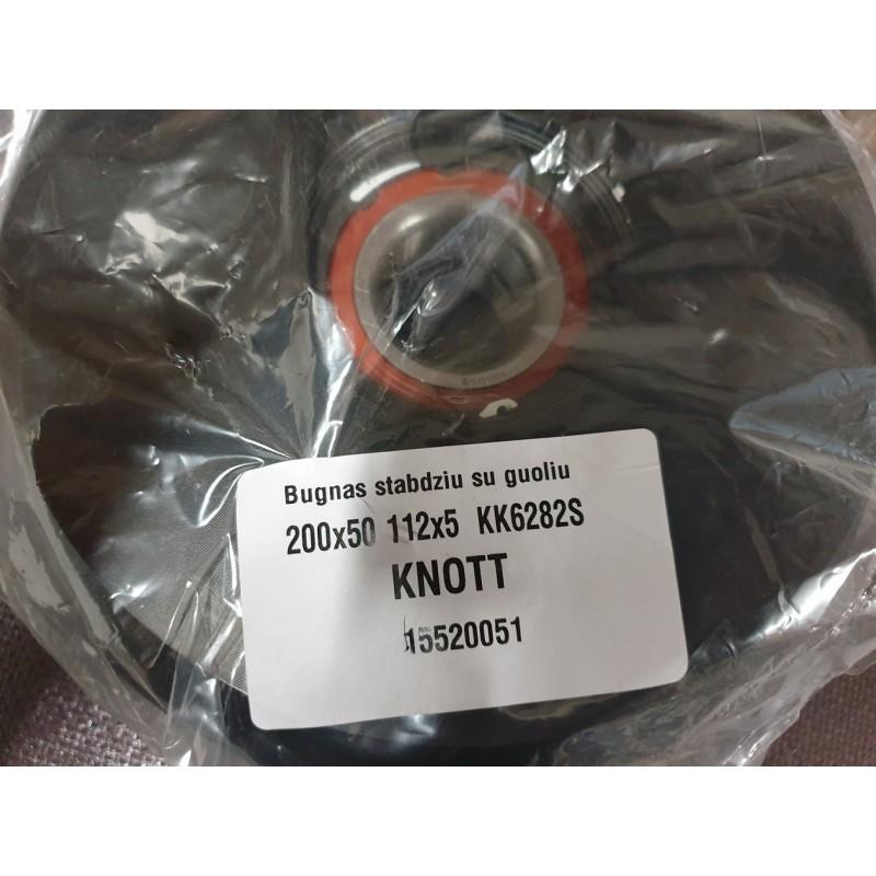 Stabdžių būgnas su guoliu KNOTT 200X50 112X5 (KK6282S)