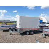 Tentas priekabai TEMA Transporter 3015/2 304x153x30cm