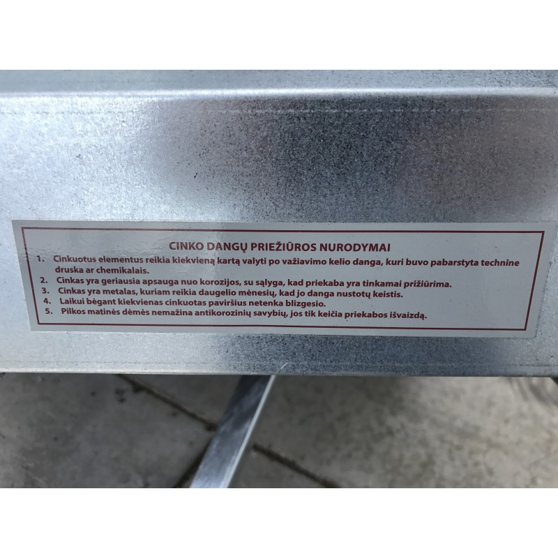 Priekaba Neptun N7-210rtr 210x129x40cm
