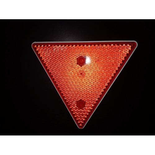 Atšvaitas trikampis raudonas