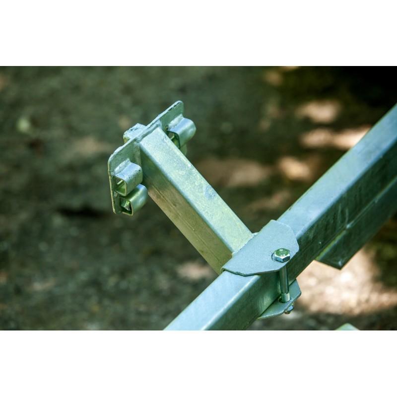 Atsarginio rato kronšteinai (montuojamas ant prikabinimo įtaiso)