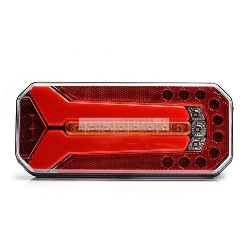 Žibintas LED W150 1115 su atbulinės eigos žibintu