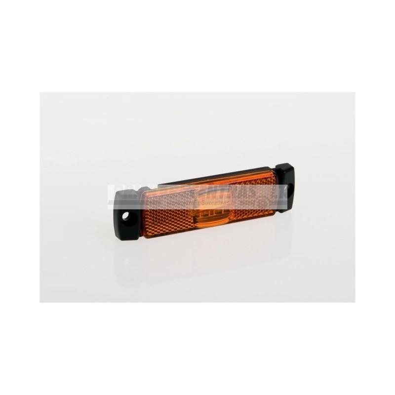 Žibintas LED FT17 12/24v be laikiklio Geltonas