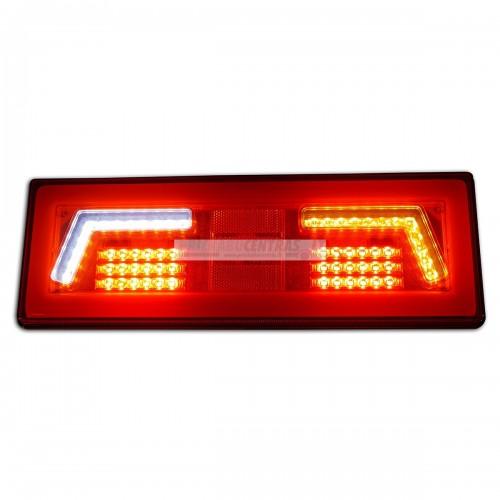 Žibintas LED L1829 12/24v gal.dešinė 106 led