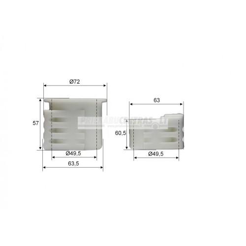 Įvorė AL-KO 161S/251S Inerciniam mechanizmui